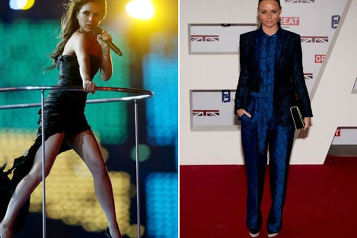 These two Brit fashion queens, Victoria Beckham and Stella McCartney, will battle it out for the Red Carpet Award. Images via Getty