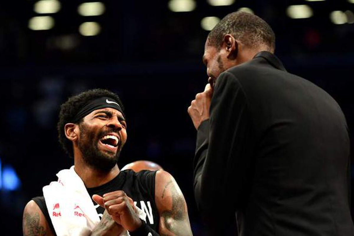 KD and Kyrie know who they want to bring to Brooklyn this summer, says Caron Butler. So who? - NetsDaily