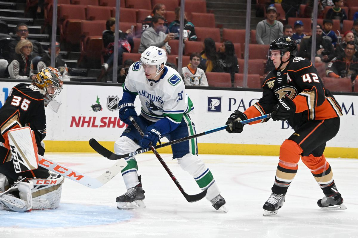 Game Day Preview Game 58 Canucks Anaheim Nucks Misconduct