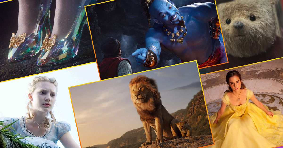 All 13 Disney live-action remakes, ranked