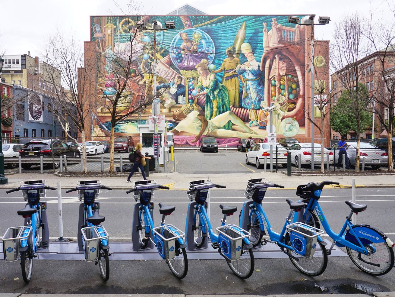 The Indego bikeshare system in Philadelphia has made rider equity a focus of expansion over the years.