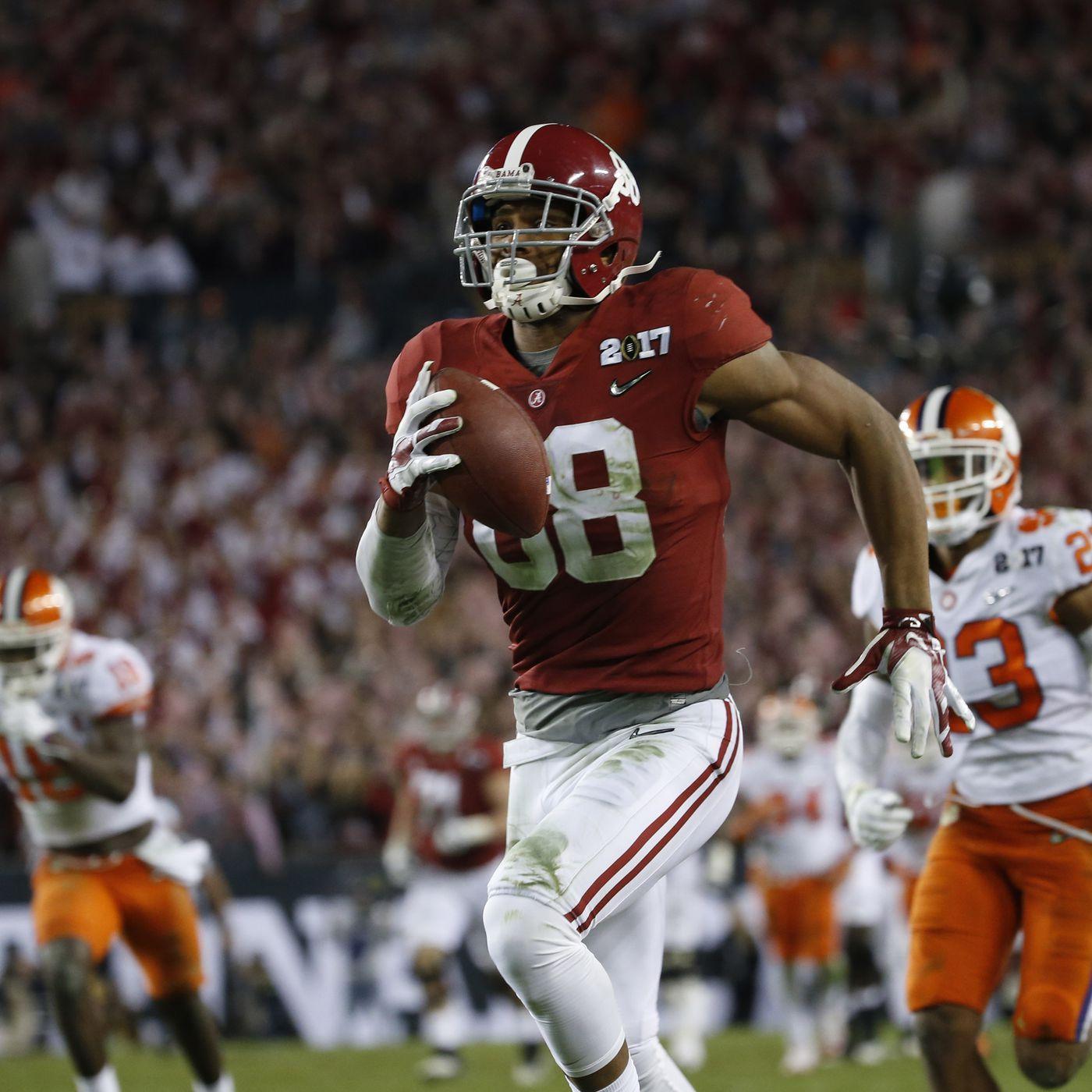 2017 Nfl Draft Profile Alabama Te O J Howard Team Speed Kills