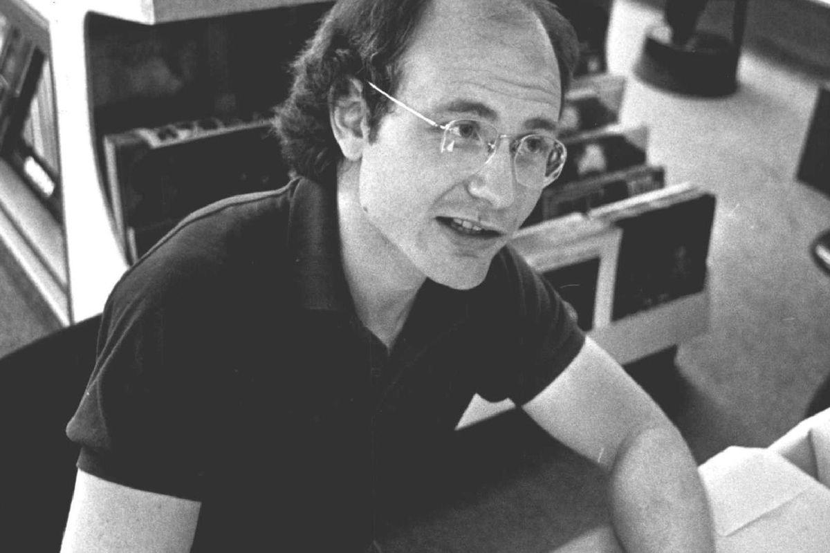 SEP 16 1983, OCT 17 1983, JAN 1 1984, JUN 27 1986, SEP 23 1988; Cartoonist Gary Larson; autographs his latest book, Beyond the Far Side