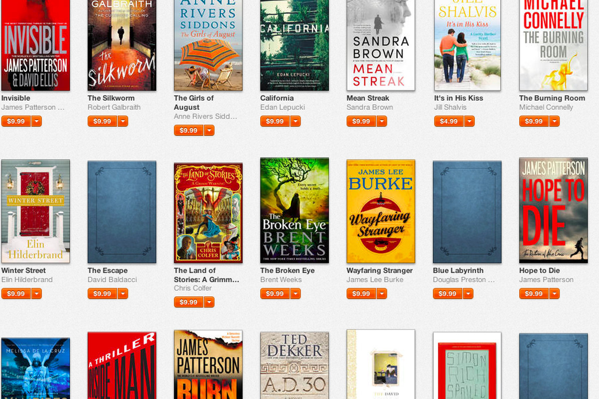 Apple Is Happy To Sell You The Hachette Books Amazon Wont Stock