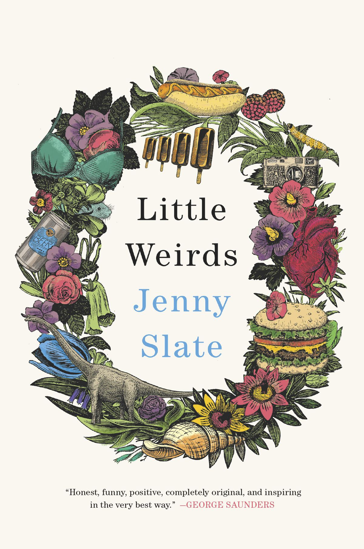 """Click to read an excerpt of """"Little Weirds""""by Jenny Slate."""
