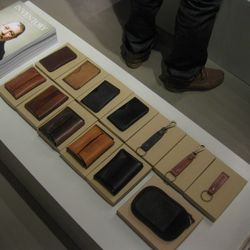 Wallets and other small leather goods