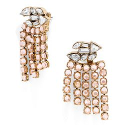 """Florence drop earrings, <a href=""""http://www.baublebar.com/florence-drops-champagne.html"""">$46</a>"""