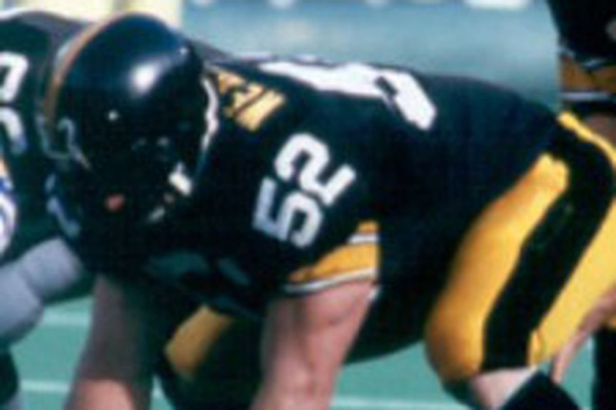 Steelers center Mike Webster played in the NFL for 17 years. He died Sept. 28, 2002