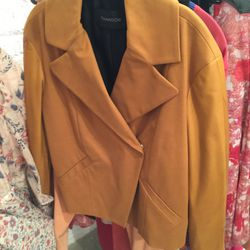 Button jacket, $100 (was $300)