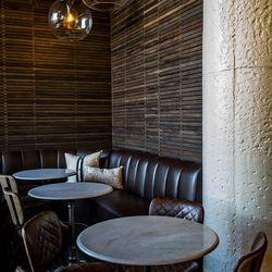 Intimate seating at Biltong Bar.