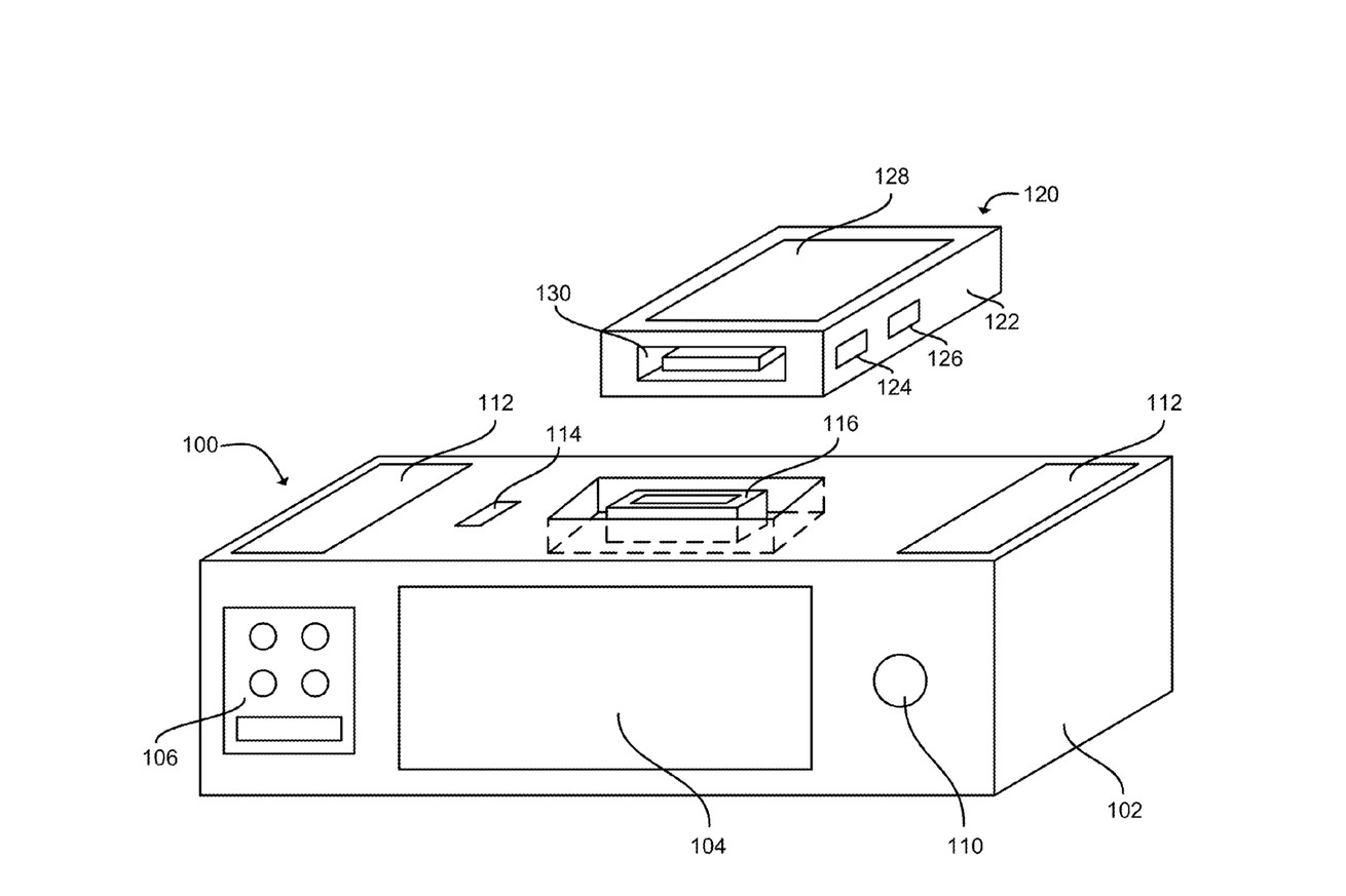 apple granted patent on smart dock with siri and wireless charging