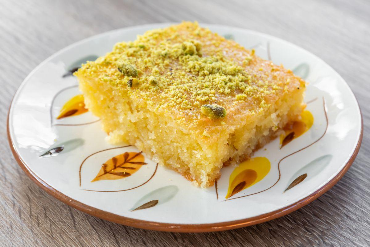 Sfoof, or turmeric tea cake