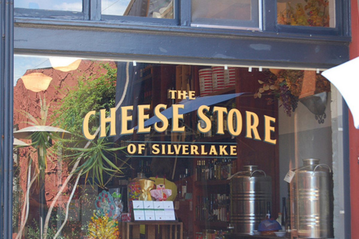 Outside The Cheese Store of Silver Lake, Silver Lake.