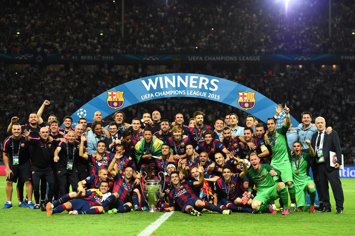 Redemption  The Story of FC Barcelona 2014-15 - Barca Blaugranes ff3eb8f4839