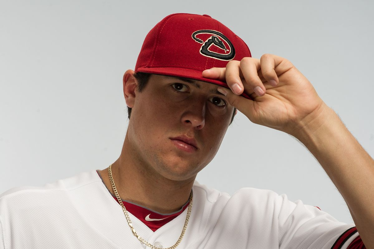 Tyler Skaggs is getting any issues he had in the spring worked out.