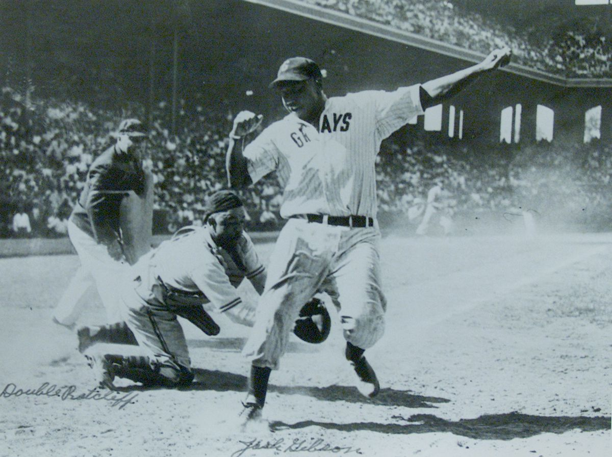 """""""Double Duty"""" Radcliffe, at 100 years old, is the oldest living player ffrom the Negro Leagues. He c"""