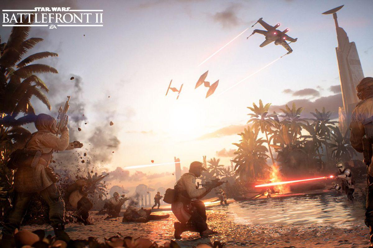 Star Wars Battlefront 2: Scarif update key art