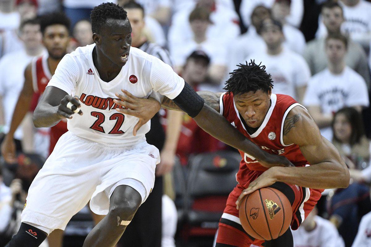 NCAA Basketball: North Carolina State at Louisville