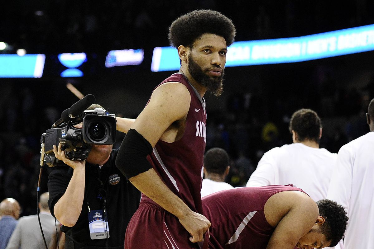 Yeah, I'm using this same photo of Bembry that everyone does. Because he looks like a baaaad man.