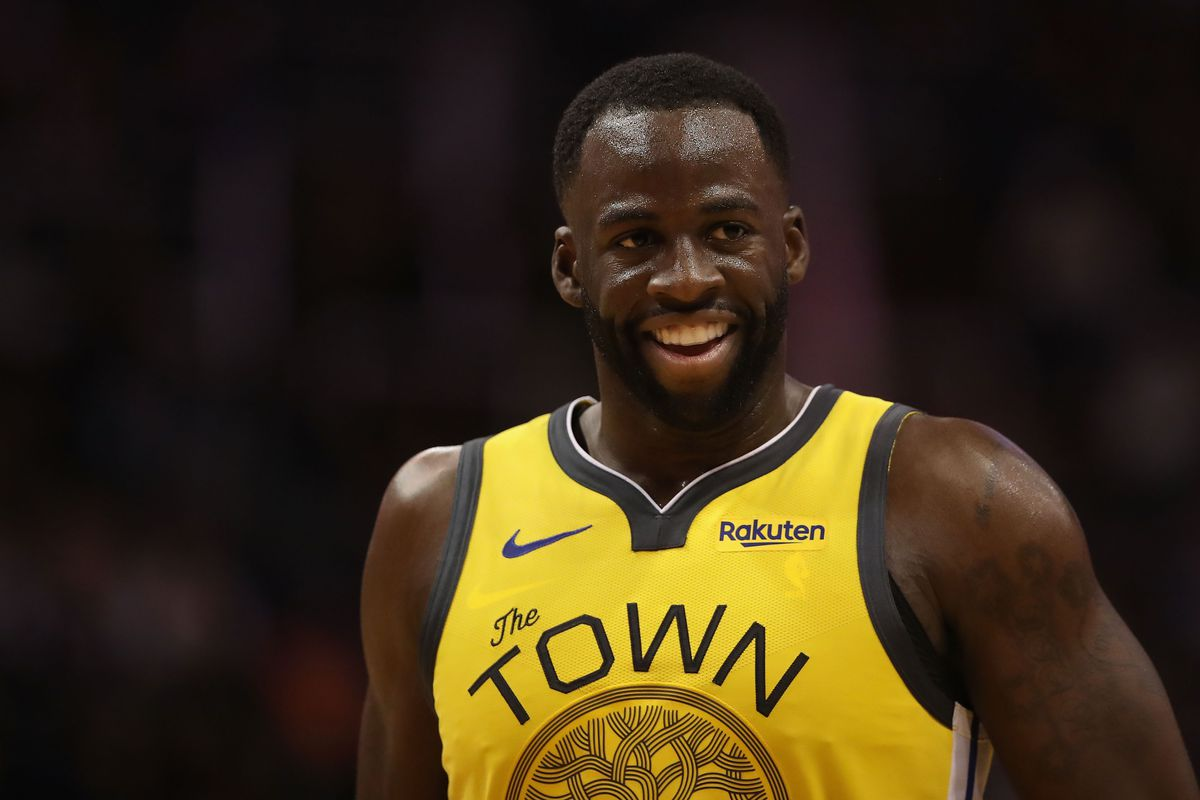 0f23b6a59dc Warriors news  Draymond Green says his ankle injury isn t serious ...