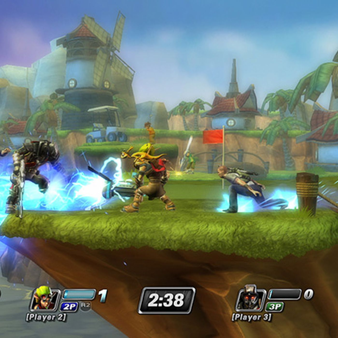 Image result for All Star Battle Royale Game For PS Vita