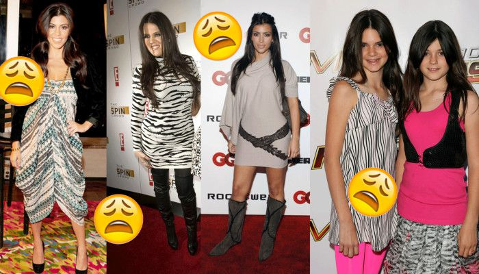 Sorry Kendall and Kylie you're guilty by association, but you just needed more time.