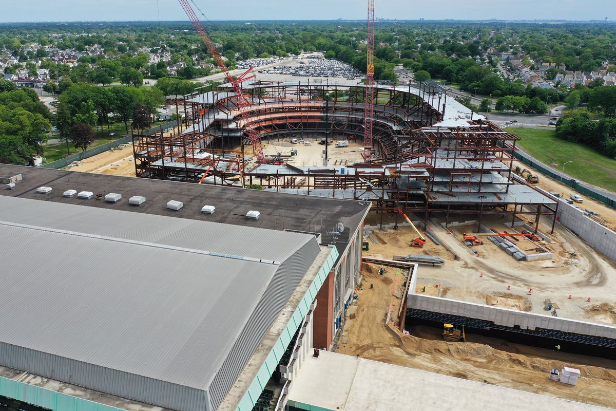 Construction Continues on NY Islanders New Arena