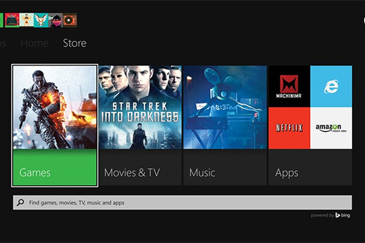 Bing Xbox One
