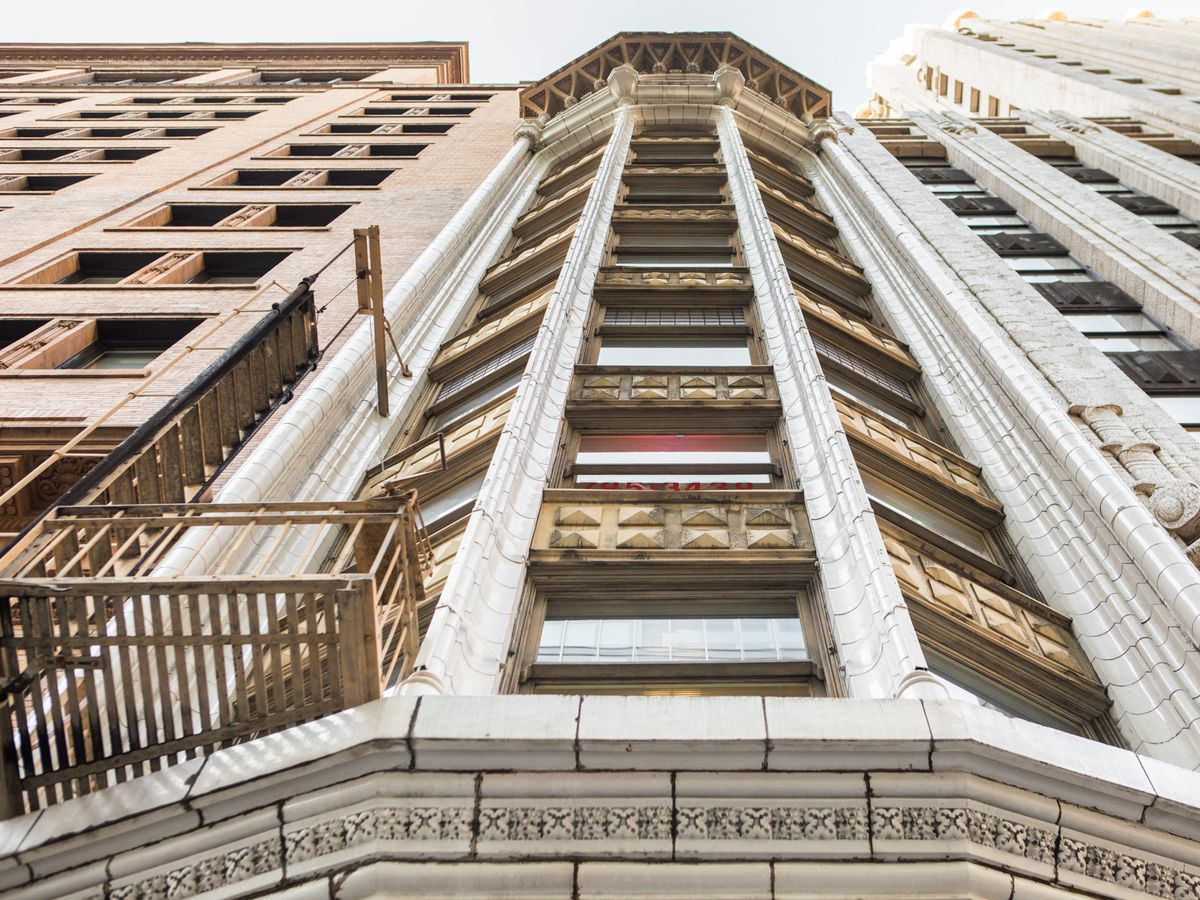 Building Facade in San Francisco