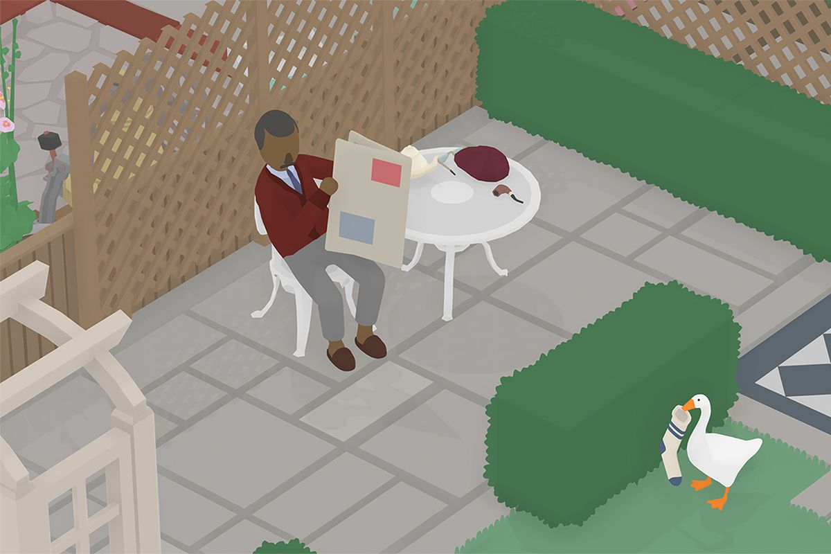 foto de Untitled Goose Game The Back Gardens to do list guide - Polygon