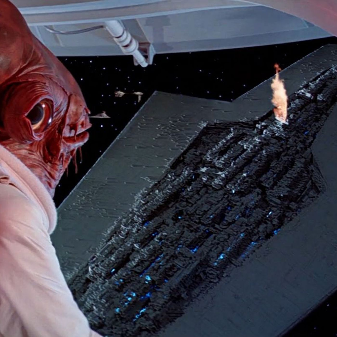 The Biggest Star Wars Spaceship Casts A Shadow The Size Of Manhattan The Verge