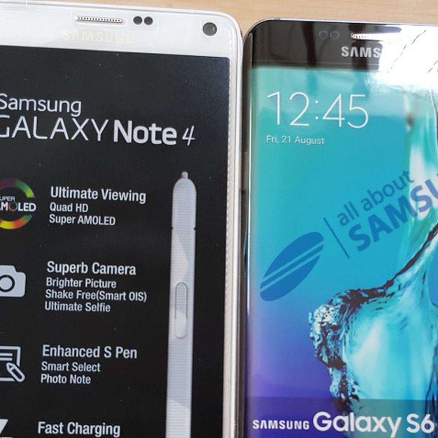 28de3270a This could be Samsung s big and curvy Galaxy S6 Edge Plus - The Verge