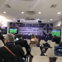 Inside the Media Room with the Italian press