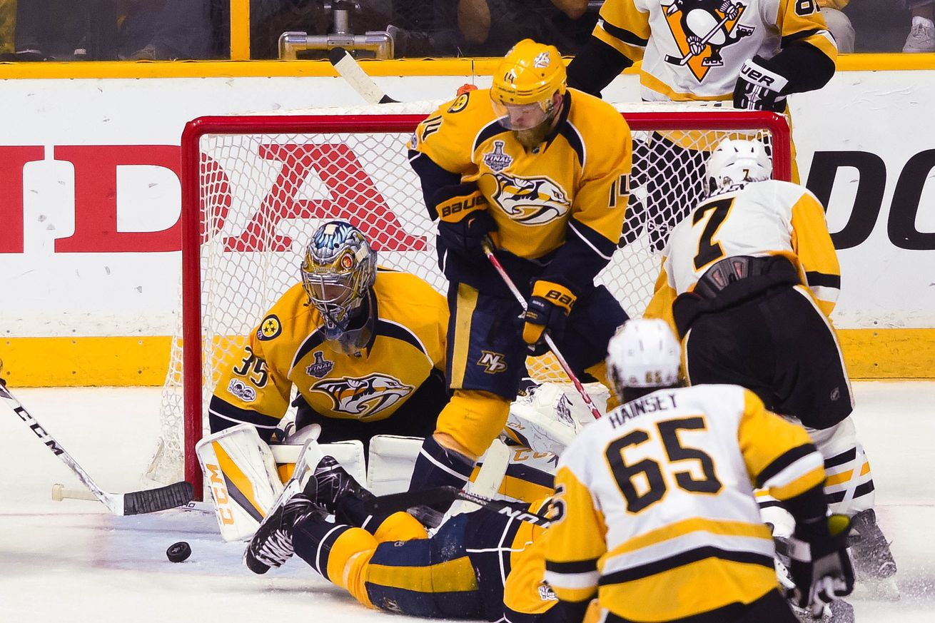 Crosby dominant in Penguins' Game 5 win over Predators