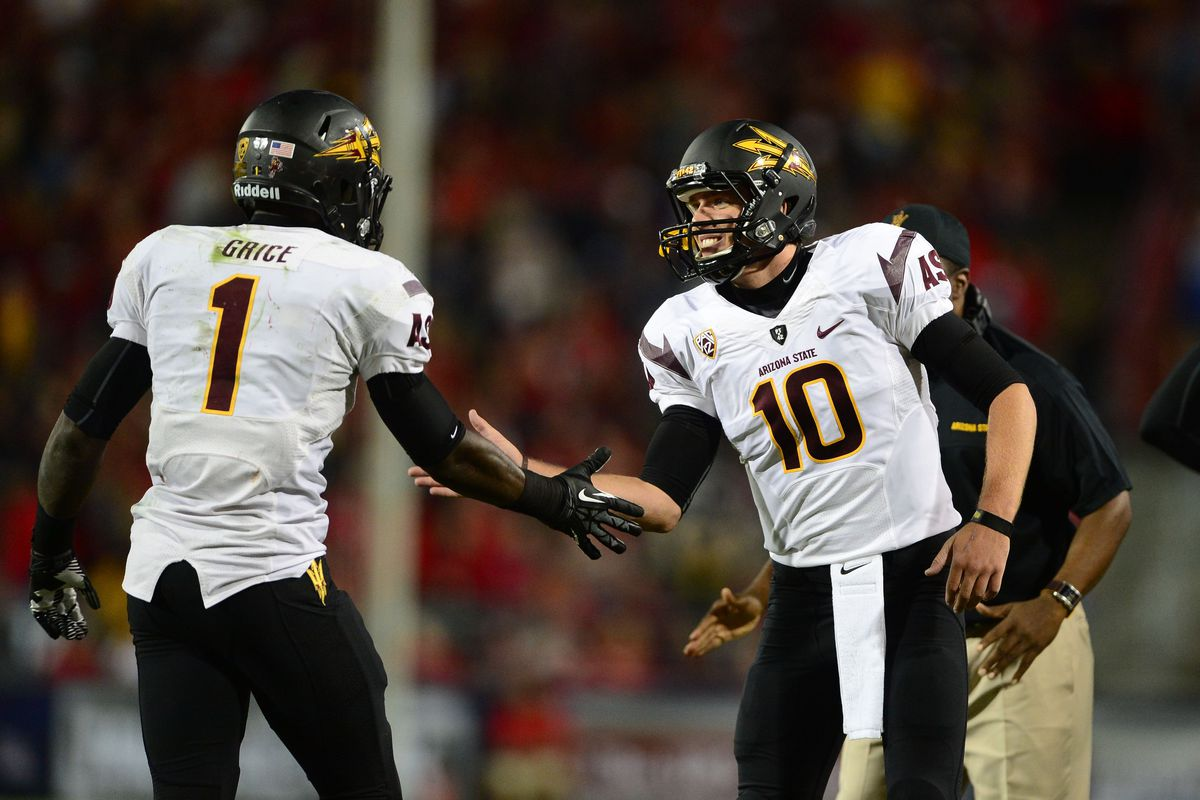 The Sun Devils hope to be seeing a lot more of this happening in 2013.