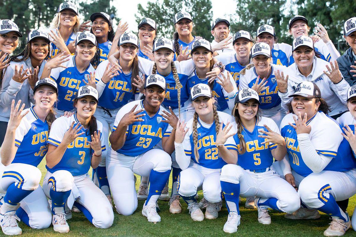 new concept 8cf07 11396 UCLA Softball Open WCWS Against the Minnesota Golden Gophers ...
