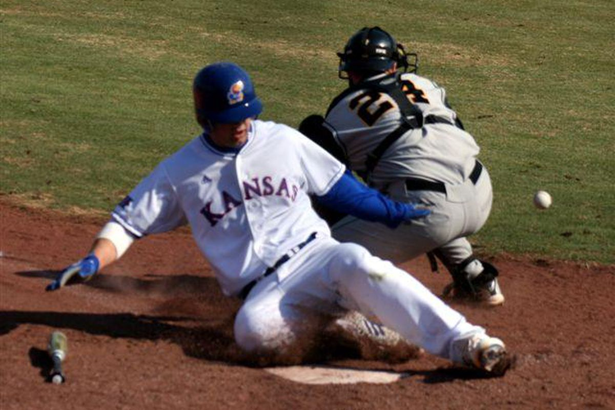 <em>KU took care of business vs. Iowa this weekend, winnng three of four games. The Jayhawks are now 7-3.</em>