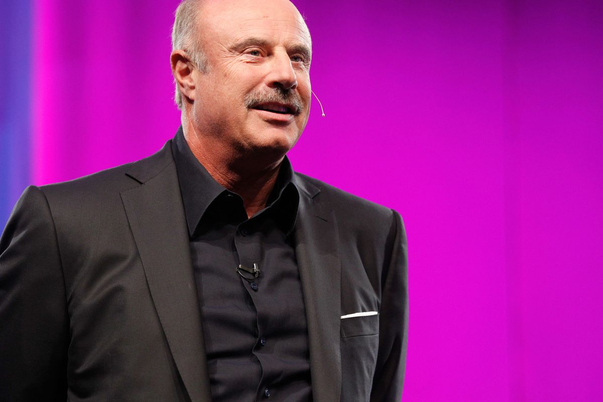 Dr  Phil is not a medical doctor  But he is now a paid