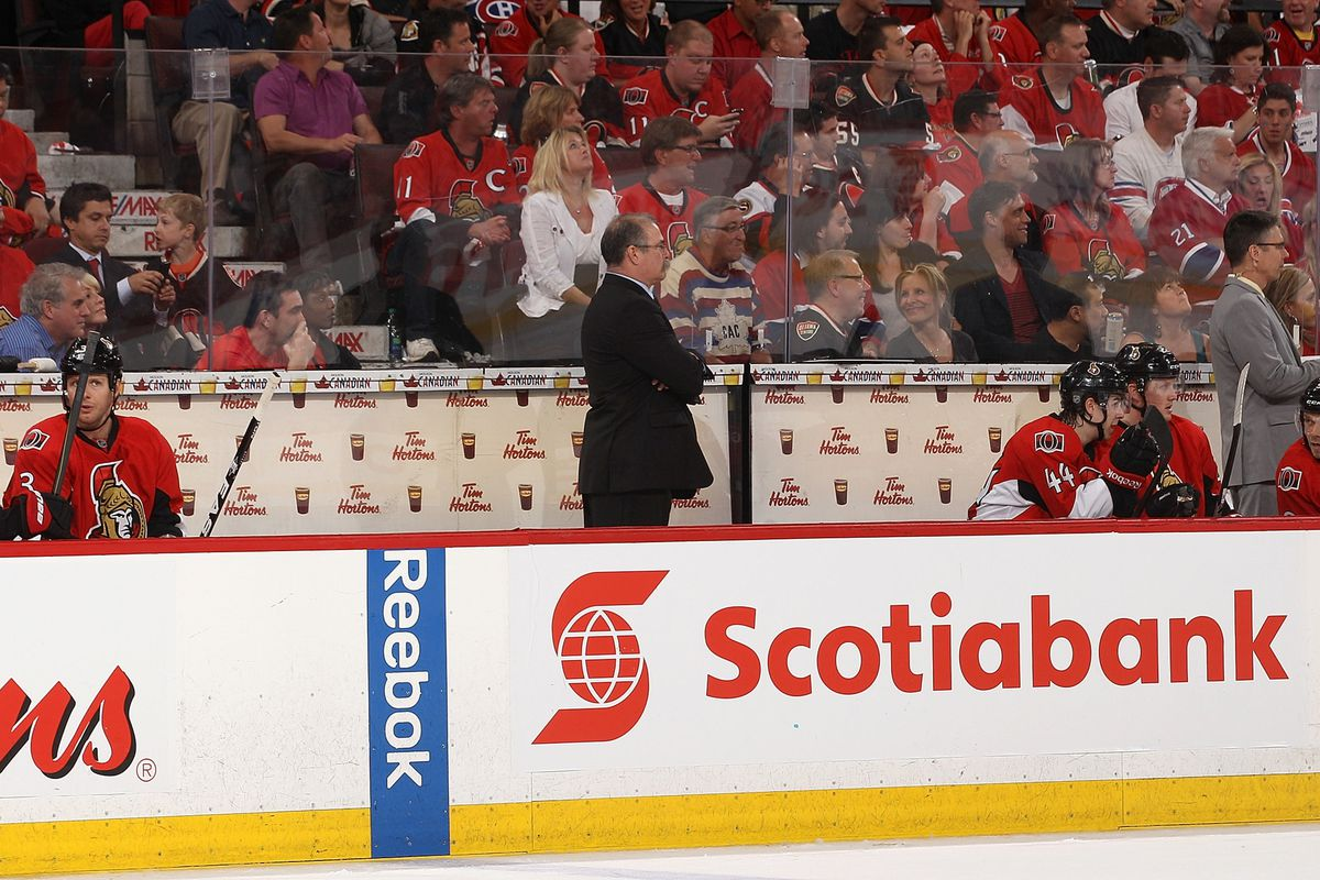 Paul MacLean's body odor problem is becoming more noticeable with every game.