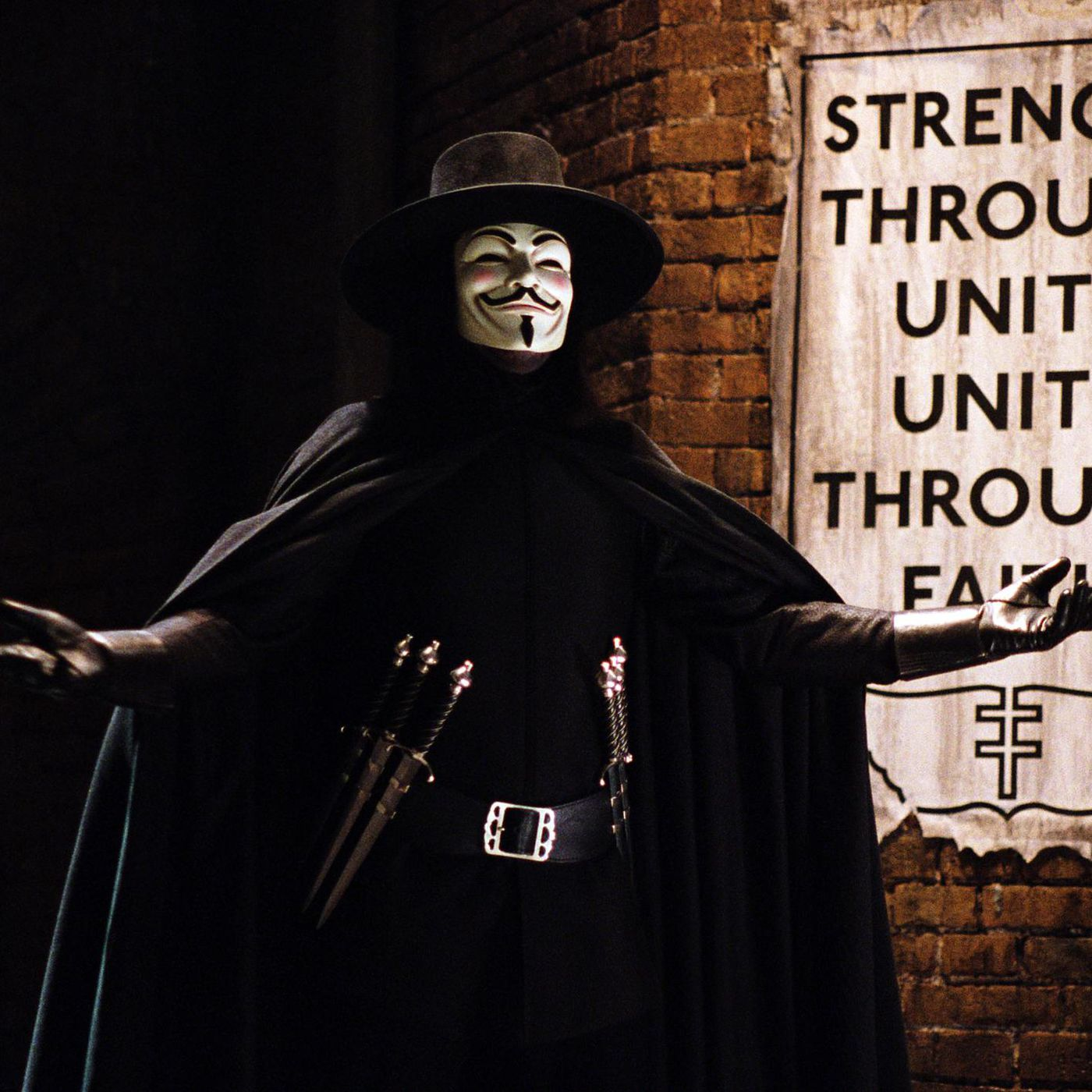 Before HBO's Watchmen, stream V for Vendetta, the best Alan Moore  adaptation - The Verge