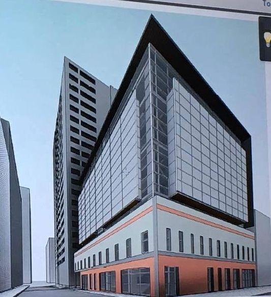 A rendering of the Forsyth-Walton building in Atlanta.