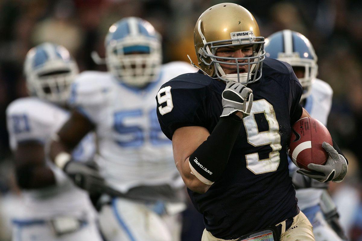North Carolina Tar Heels v Notre Dame Fighting Irish