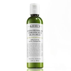 """A hydrating blend of olive fruit and avocado oils, Kiehl's <a href=""""http://www.kiehls.com/Strengthening-and-Hydrating-Hair-Oil-in-Cream/1230,default,pd.html?"""">Strengthening and Hydrating Hair Oil-in-Cream</a> is said to reduce breakage by up to 75%. It's"""