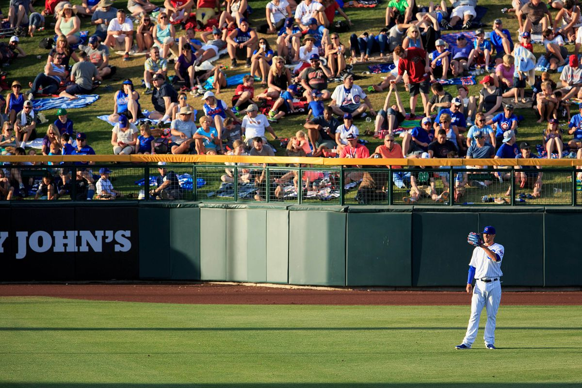 Kris Bryant in the outfield