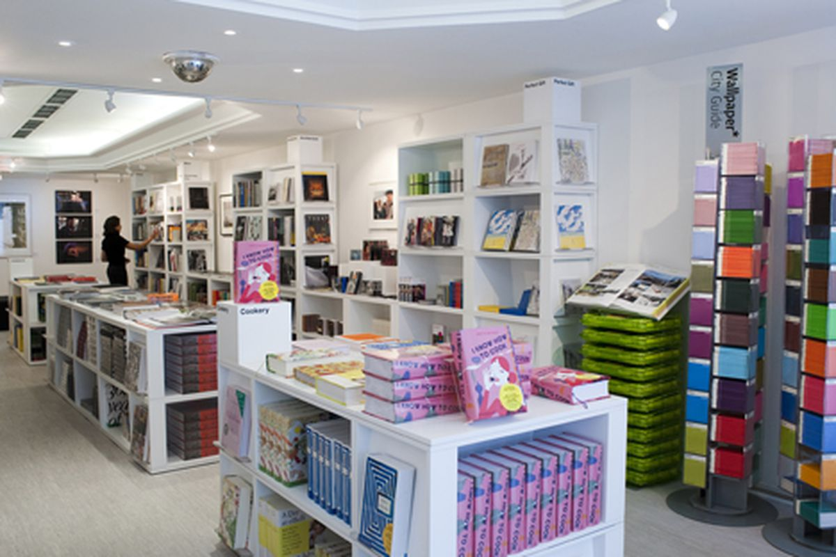 The inside of a similar pop-up in London, which opened this October