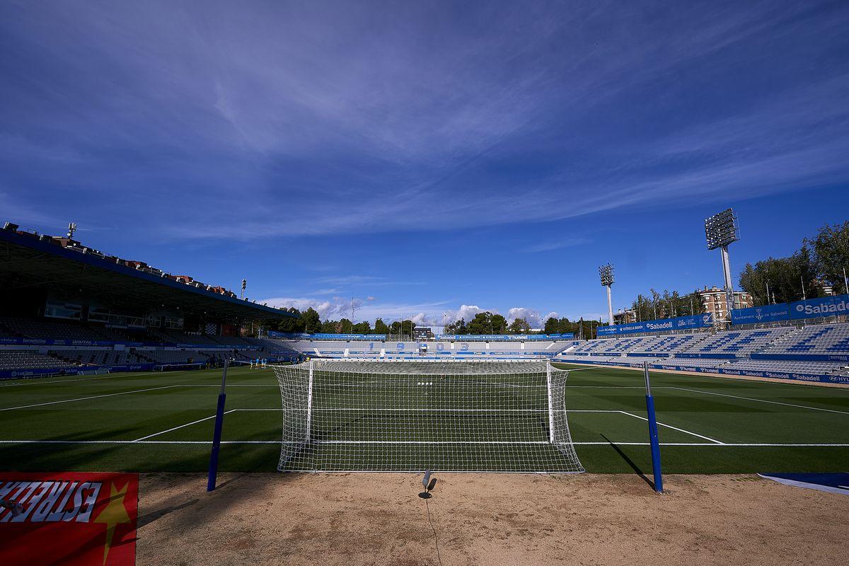 CE Sabadell v Malaga CF - La Liga Smartbank