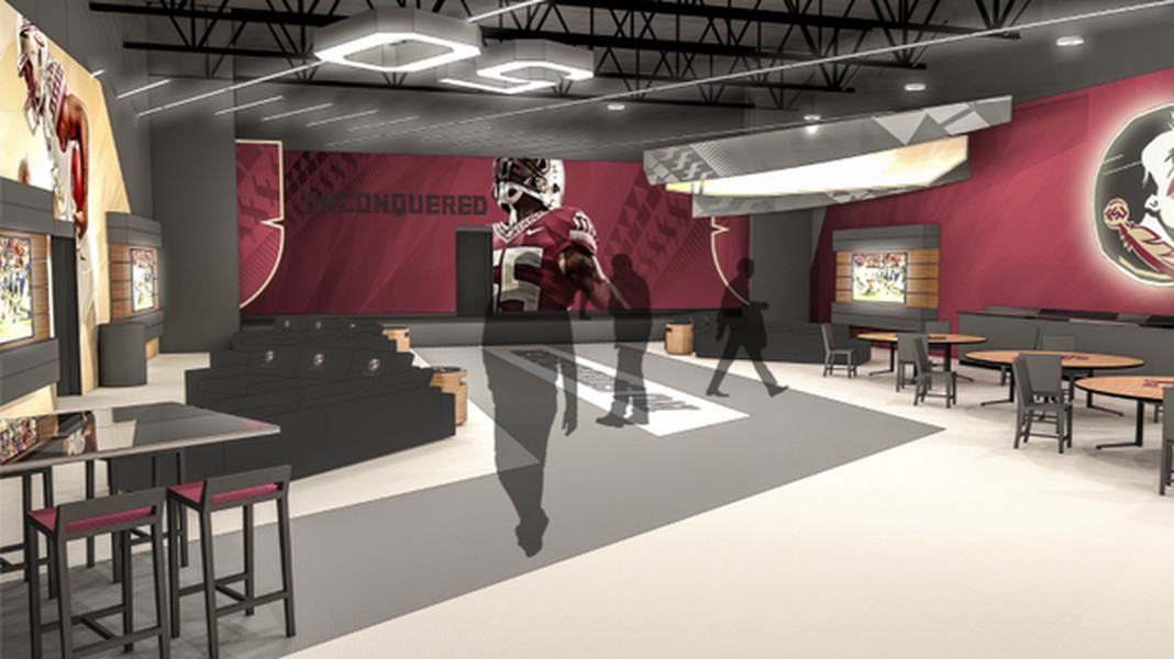 First look Plans for Florida States new players lounge Tomahawk