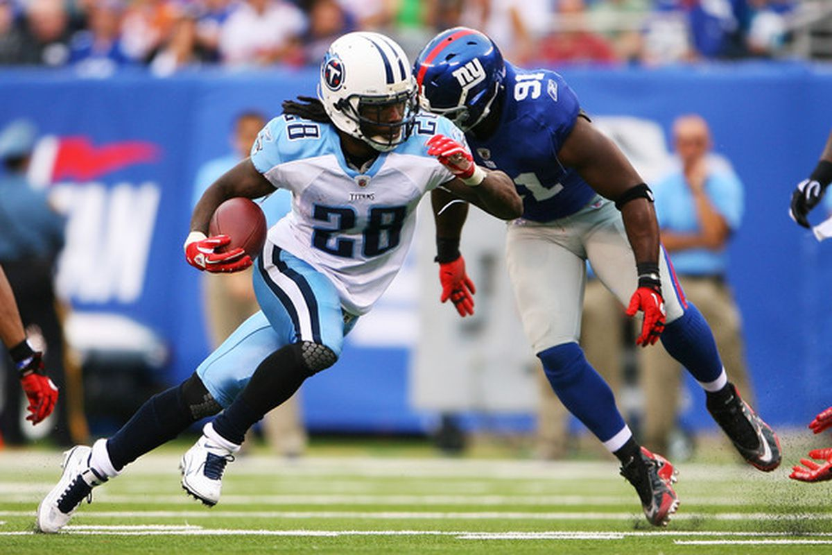Could Chris Johnson be in blue next year?