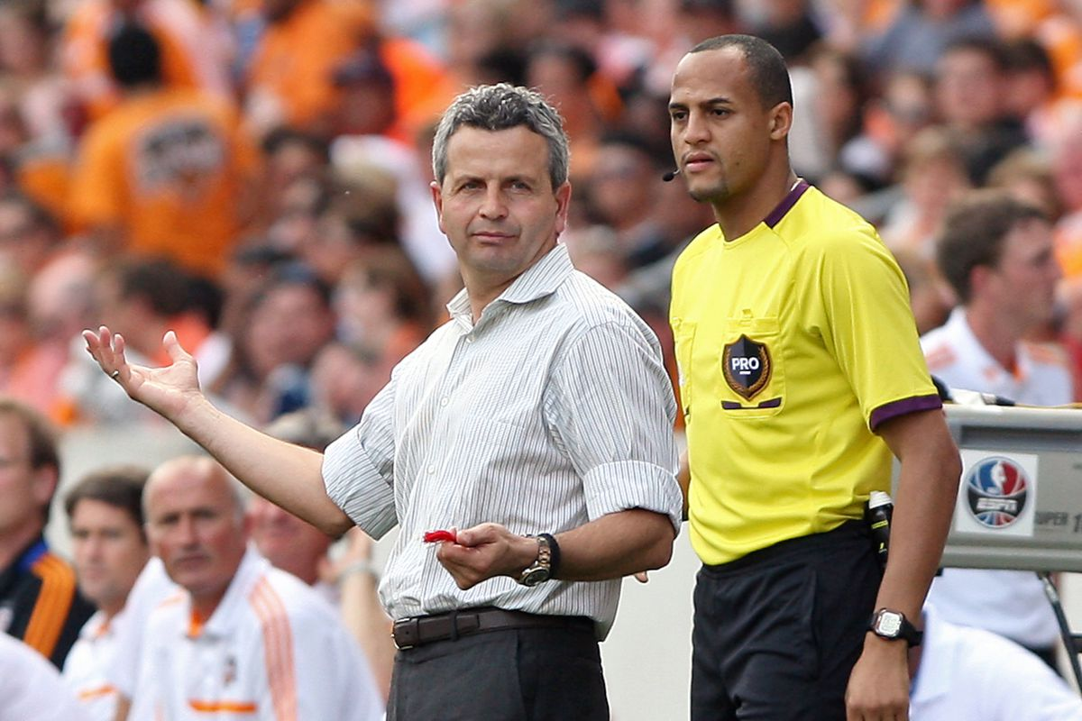 Frank Klopas - the Greek god of Chicago - doesn't know what the officials are thinking either
