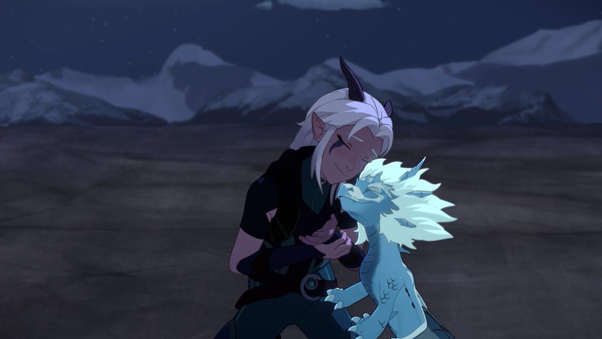 The Dragon Prince season 1 ending: credits tease magic
